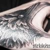 Raven on Hand - self inked